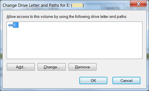 Change Drive Letter and Paths for ...